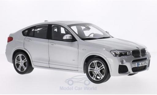 Bmw X4 1/18 Paragon grise 2015 miniature