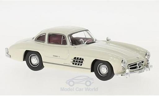 Mercedes 300 SL 1/43 Pct (W198) blanche 1954 miniature