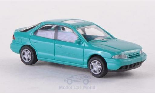 Ford Mondeo 1/87 Rietze MKI Fließheck turquoise 1994 ohne Vitrine miniature