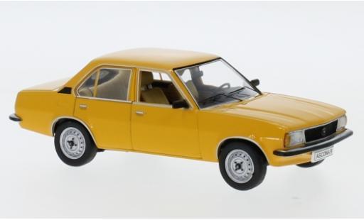 Opel Ascona 1/43 I Schuco B 1.6 jaune 1975 miniature
