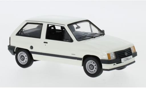 Opel Corsa 1/43 I Schuco A Luxus blanche miniature