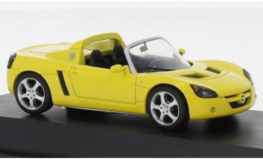 Opel Speedster 1/43 I Schuco jaune miniature