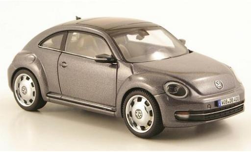 Volkswagen Beetle 1/43 I Schuco metallise grey 2011 diecast model cars