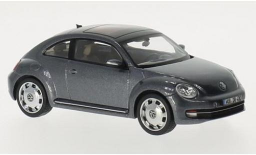 Volkswagen Beetle 1/43 I Schuco metallise grey 2012 diecast model cars