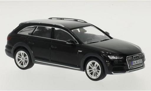 Audi A4 1/43 Spark Allroad quattro black 2016 diecast model cars