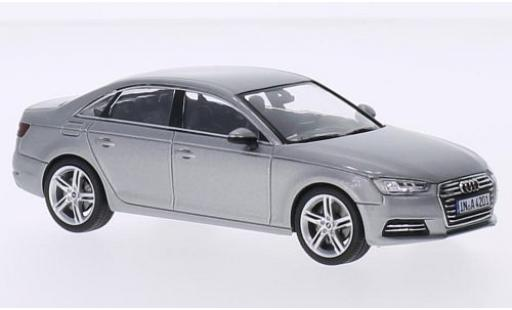 Audi A4 1/43 I Spark (B9) silber 2015 modellautos