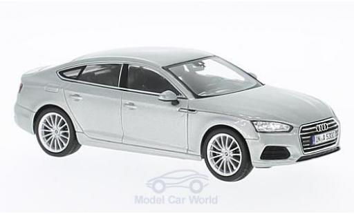 Audi A5 1/43 Spark Sportback gris 2016 miniatura
