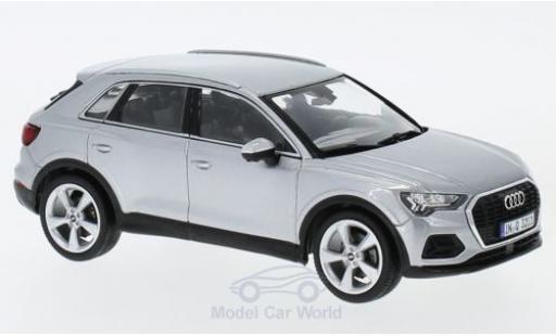 Audi Q3 1/43 Spark grise miniature