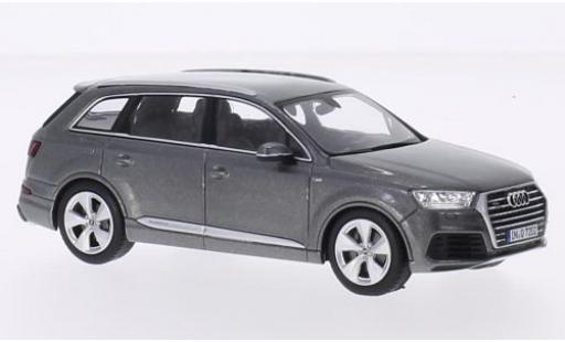 Audi Q7 1/43 I Spark metallise grigio 2015 modellino in miniatura