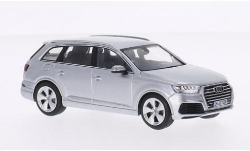 Audi Q7 1/43 Spark grey 2015 diecast model cars