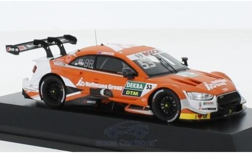 Audi RS5 1/43 Spark RS 5 DTM No.53 DTM 2019 J.Green miniature