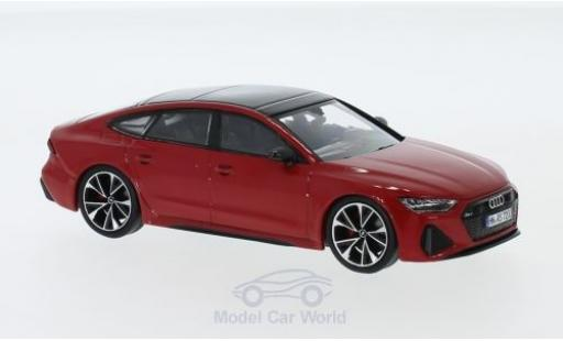 Audi RS7 1/43 I Spark Sportback rouge 2019 miniature