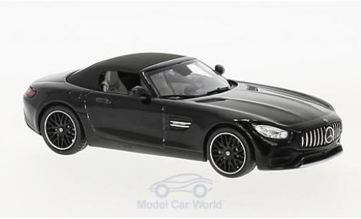 Mercedes AMG GT 1/43 Spark Roadster métallisé noire miniature