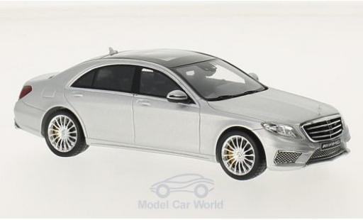 Mercedes Classe S 1/43 I Spark AMG S 65 (V222) matt-grise miniature