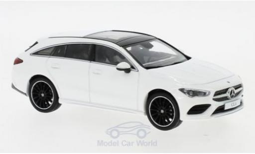 Mercedes CLA 1/43 I Spark Shooting Brake blanche 2019 miniature