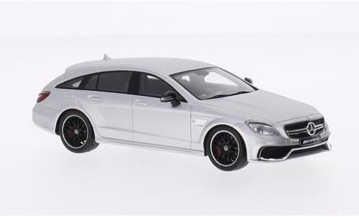 Mercedes CLS 1/43 I Spark 63 AMG 4Matic Shooting Brake silber modellautos