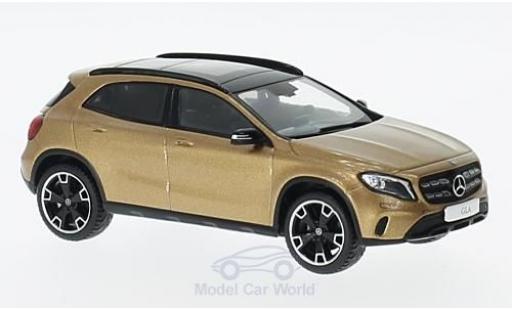 Mercedes Classe GLA 1/43 Spark GLA (X 156) Mopf metallise marron miniature
