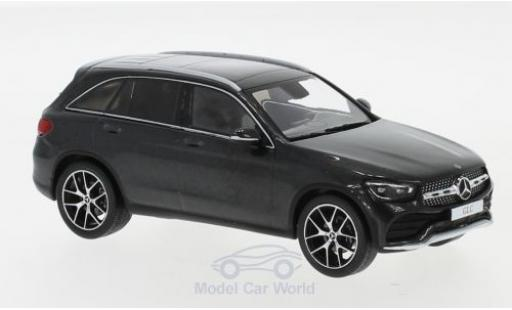 Mercedes Classe GLC 1/43 I Spark GLC (X253) Mopf métallisé grise 2019 miniature