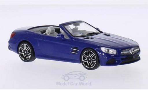 Mercedes Classe SL 1/43 Spark SL (R231) blue 2016 Softtop liegt bei Facelift diecast model cars