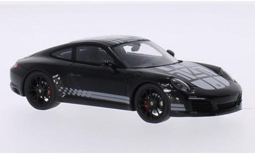 Porsche 991 S 1/43 Spark 911  Carrera Endurance Racing Edition black/Dekor 2016 diecast model cars