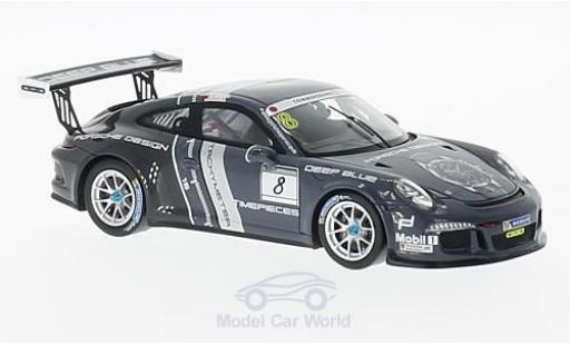 Porsche 991 SC 1/43 Spark (991) GT3 Cup No.8 Sports Cup 2016 Design N.Dagilis miniature