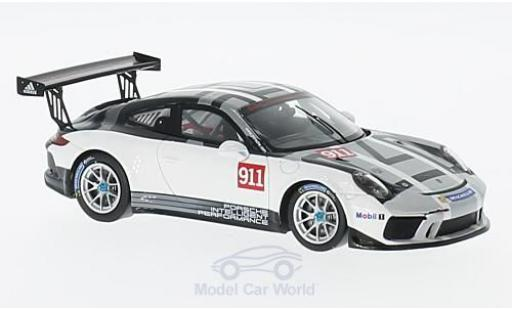 Porsche 991 GT3 Cup 1/43 Spark 911  No.911 Sports Cup 2017 Promo Version diecast model cars