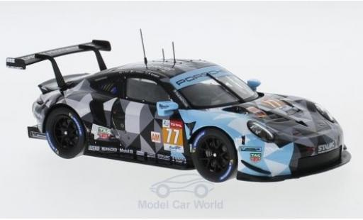 Porsche 991 RSR 1/43 Spark 911 ( II) No.77 Dempsey Predon Racing WEC 2018 C.Ried/J.Andlauer/M.Campbell diecast model cars
