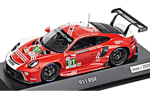 Porsche 992 RSR 1/43 I Spark 911 (991) 24h Le Mans 2020 R.Lietz/G.Bruni/F.Makowiecki diecast model cars