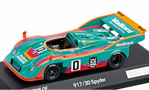 Porsche 917 1975 1/43 I Spark /30 Spyder RHD Vaillant Racing Vaillant Interserie H.Müller diecast model cars