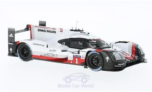 Porsche 919 2016 1/43 Spark Hybrid No.1 24h Le Mans Presentation Car miniature