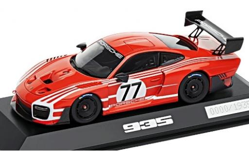 Porsche 991 GT2 RS 1/43 I Spark 935 rouge/blanche No.77 Salzburg Basis: 911 Clubsport (.2) miniature