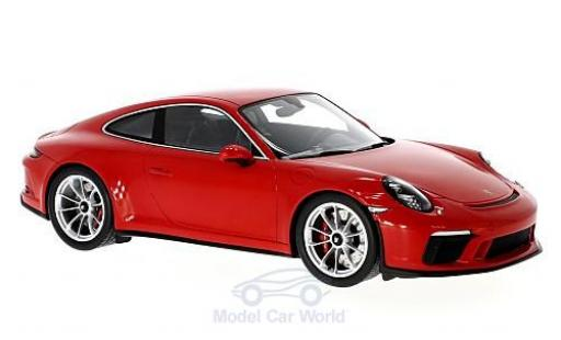 Porsche 991 GT3 1/18 Spark Touring Package rouge miniature