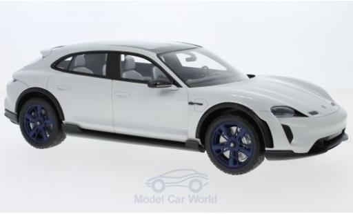 Porsche Mission E 1/18 Spark Cross Turismo diecast model cars