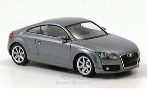 Audi TT coupe 1/87 Wiking Coupe metallise grise 2006 miniature