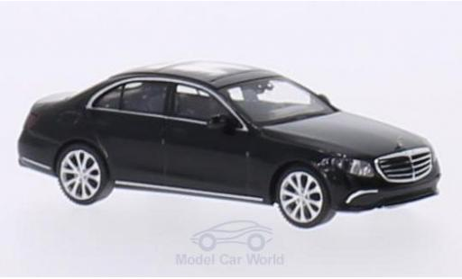 Mercedes Classe E 1/87 Wiking (W213) Exclusive noire miniature
