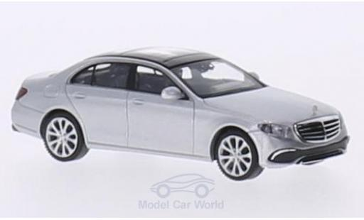Mercedes Classe E 1/87 Wiking (W213) Exclusive grise miniature
