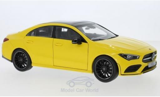 Mercedes CLA 1/18 I Z Models (C118) jaune 2019
