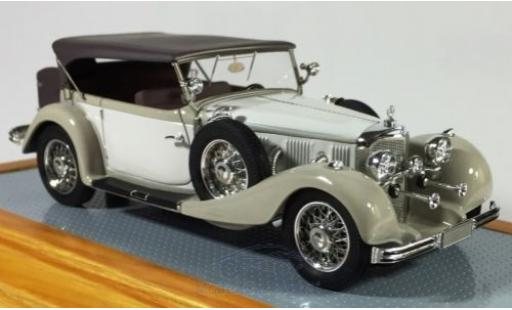 Mercedes 500 1/43 Ilario K Tourenwagen grise/grise 1934 miniature