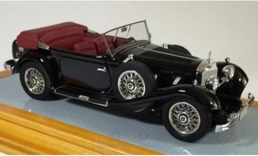 Mercedes 500 1/43 Ilario K Tourenwagen negro 1934 miniatura