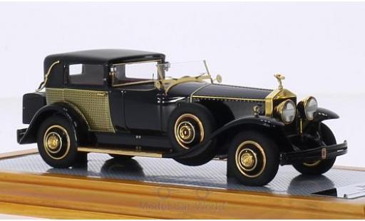 Rolls Royce Phantom 1/43 Ilario I Riviera Town Brougham Brewster noire/Dekor RHD 1929 snS390LR miniature