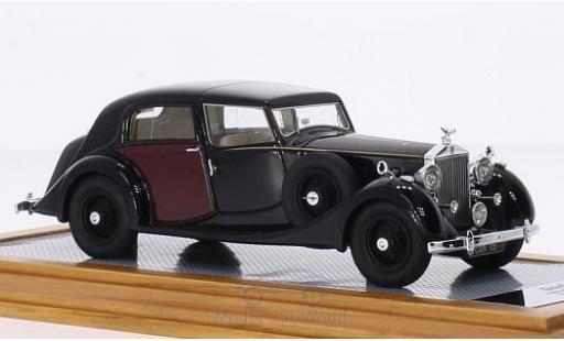 Rolls Royce Phantom 1/43 Ilario III Sedanca de Ville Park Ward noire/rouge RHD 1937 sn3CP192 miniature