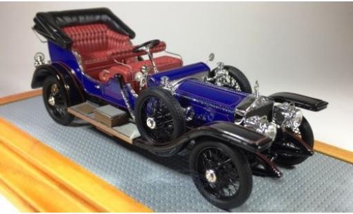 Rolls Royce Silver Ghost 1/43 Ilario Ceremonial Victoria bleue RHD 1911 sn1683 Maharajah of Mysore miniature