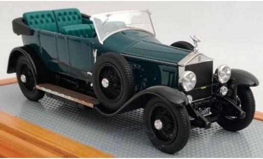 Rolls Royce Silver Ghost 1/43 Ilario Torpedo Tourer Million-Guiet verte/noire RHD 1924 2AU E.B. miniature