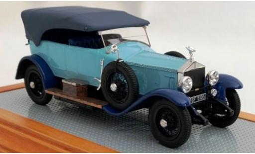 Rolls Royce Silver Ghost 1/43 Ilario Torpedo Tourer Million-Guiet bleue/bleue RHD 1924 2AU J.A. miniature