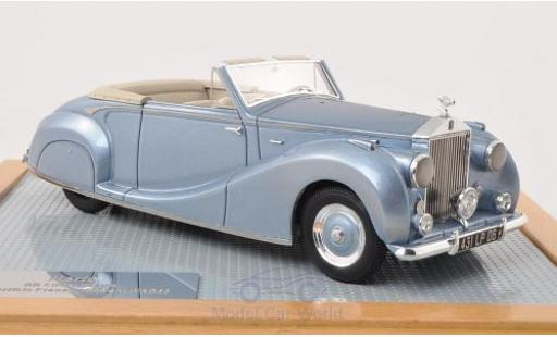 Rolls Royce Silver Wraith 1/43 Ilario Drop Head Coupe Franay metallise bleue 1948 miniature