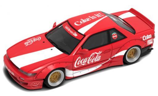 Nissan Silvia 1/64 INNO64 (S13) Rocket Bunny V2 RHD Coca-Cola miniature