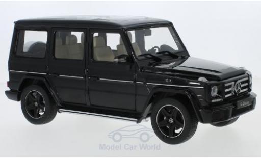 Mercedes Classe G 1/18 iScale (W463) noire 2015 miniature