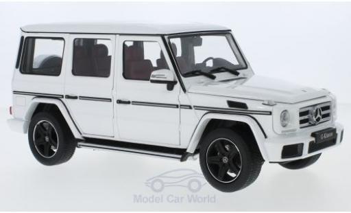 Mercedes Classe G 1/18 iScale (W463) blanche 2015 miniature