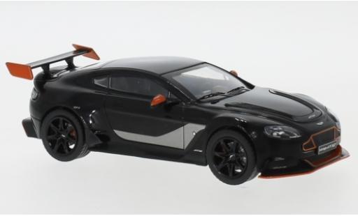 Aston Martin Vantage 1/43 IXO GT 12 noire/orange 2015 miniature