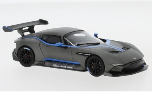 Aston Martin Vulcan 1/43 IXO matt-grise 2015 miniature
